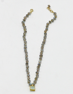 Labradorite & Chalcedony Necklace
